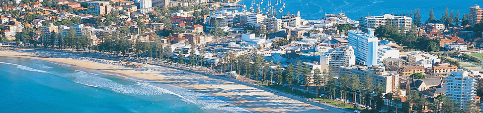 Photo of Manly Beach shoreline